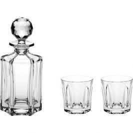 Bohemia Crystal Whisky set 3ks VICTORIA
